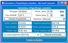 loan calculator canadian and us calculator for your website or